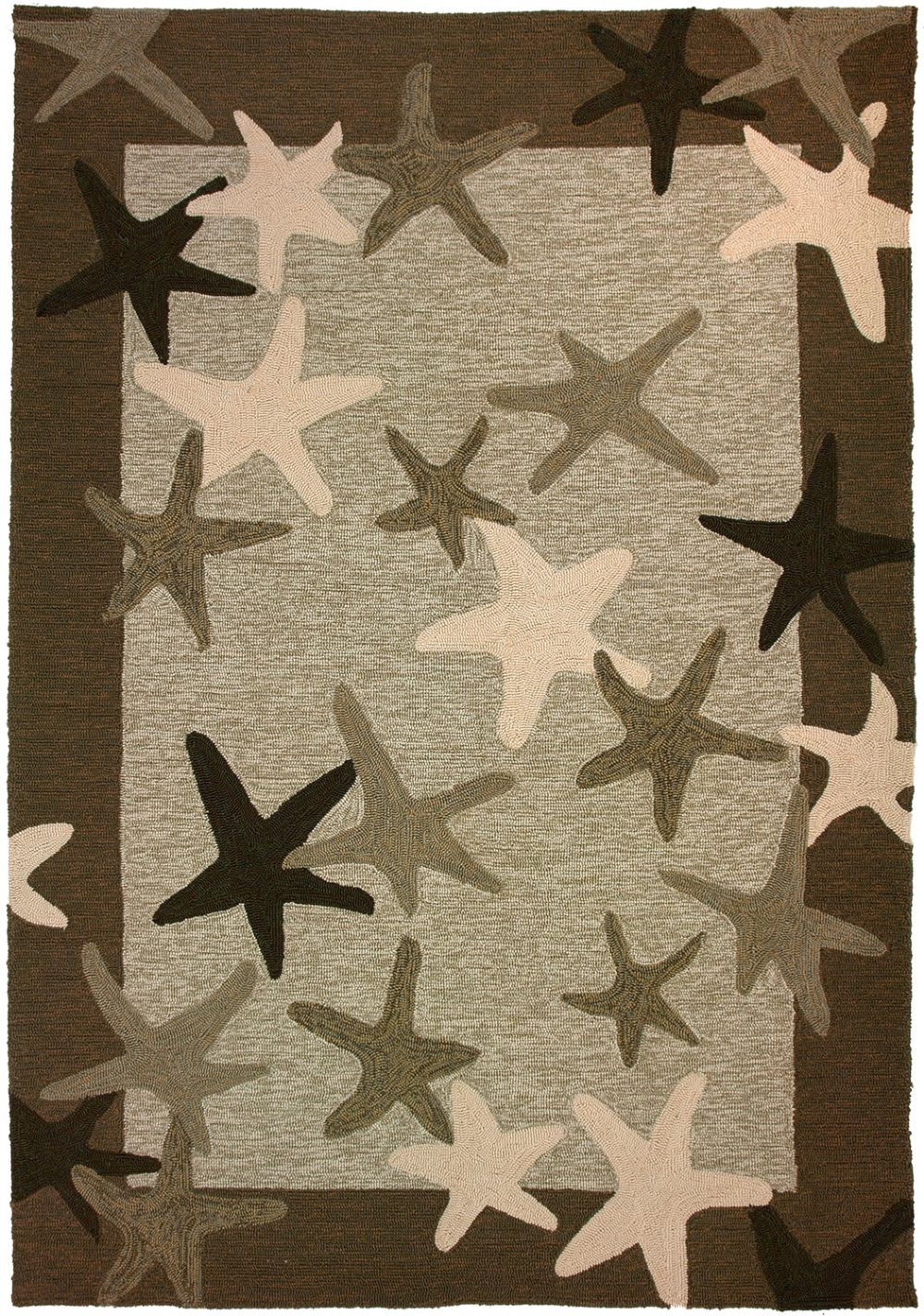 homefires starfish field contemporary area rug collection