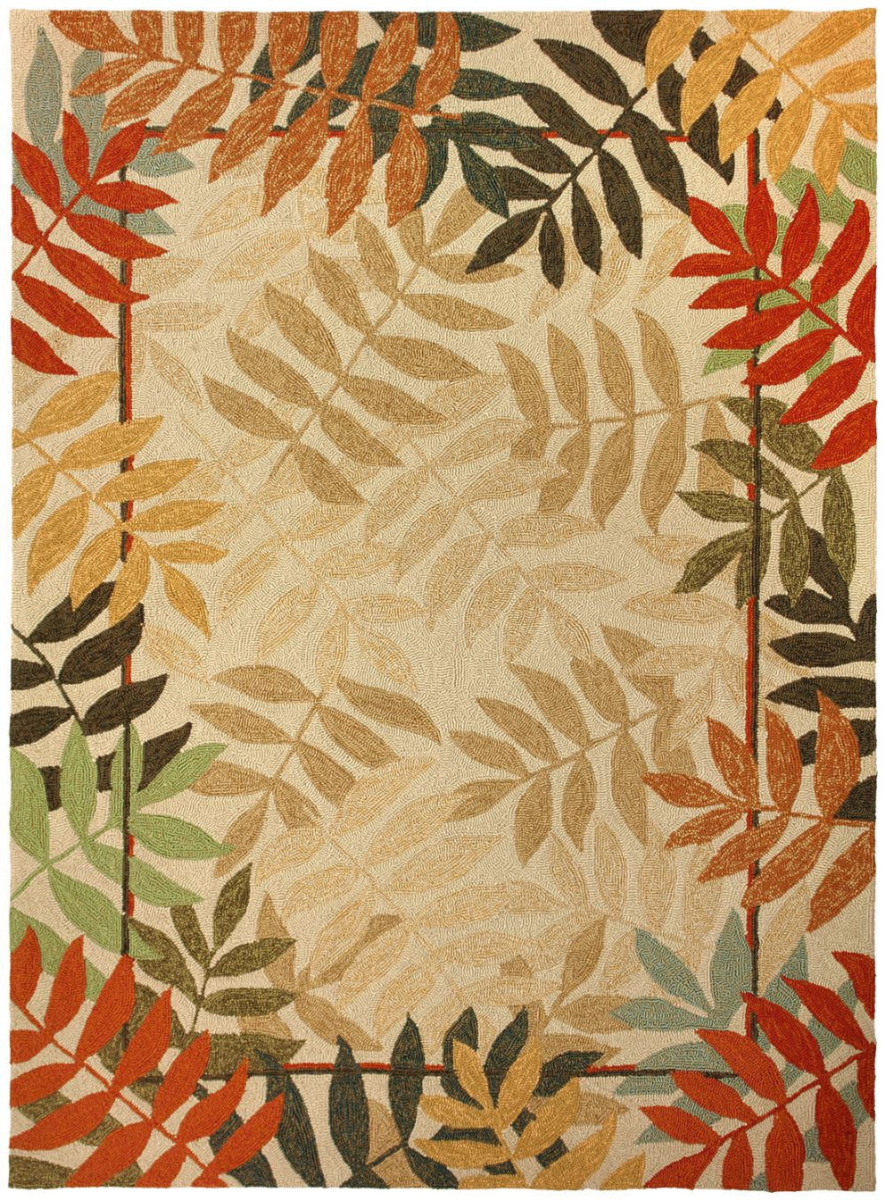 homefires painted rain forest contemporary area rug collection