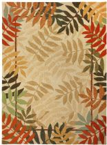 Homefires Contemporary Painted Rain Forest Area Rug Collection