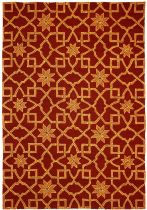 Homefires Contemporary Moroccan Tile Area Rug Collection
