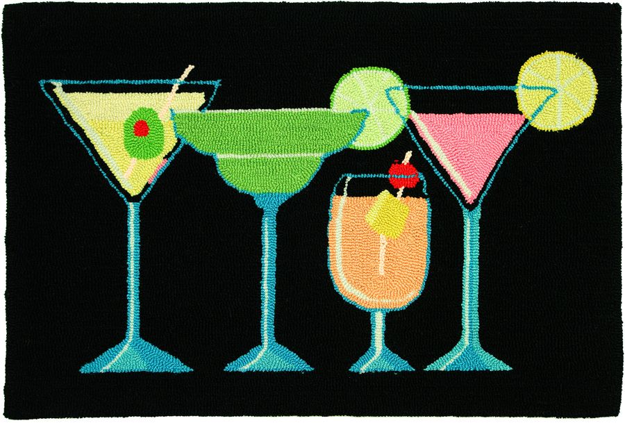 homefires happy hour contemporary area rug collection