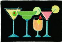Homefires Contemporary Happy Hour Area Rug Collection
