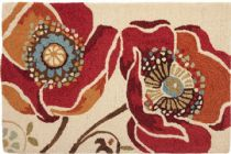 Homefires Contemporary Moroccan Red Area Rug Collection