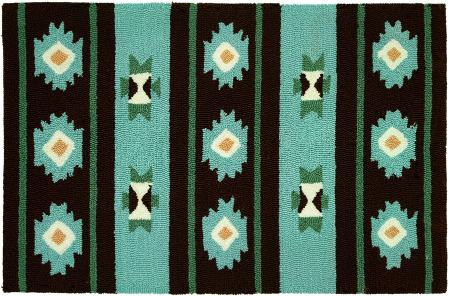 homefires navaho blanket contemporary area rug collection