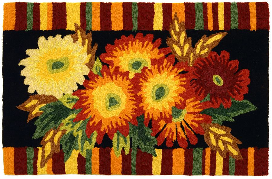 homefires asters contemporary area rug collection
