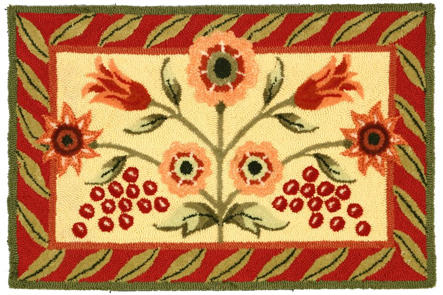 homefires tuscany garden contemporary area rug collection