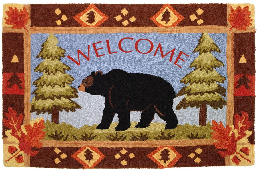 homefires bear lake contemporary area rug collection
