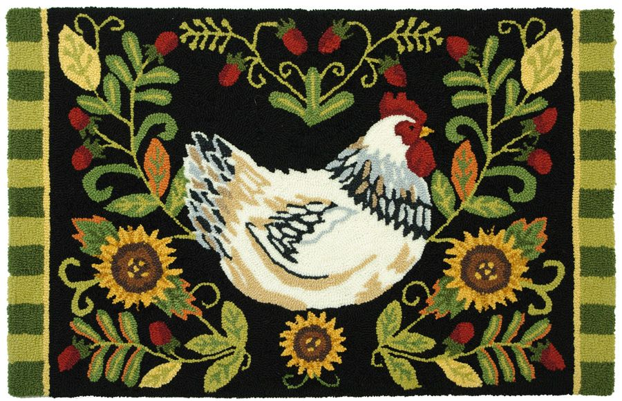 homefires white leghorn contemporary area rug collection