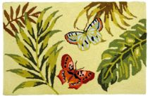 Homefires Contemporary Bamboo Butterfly Area Rug Collection