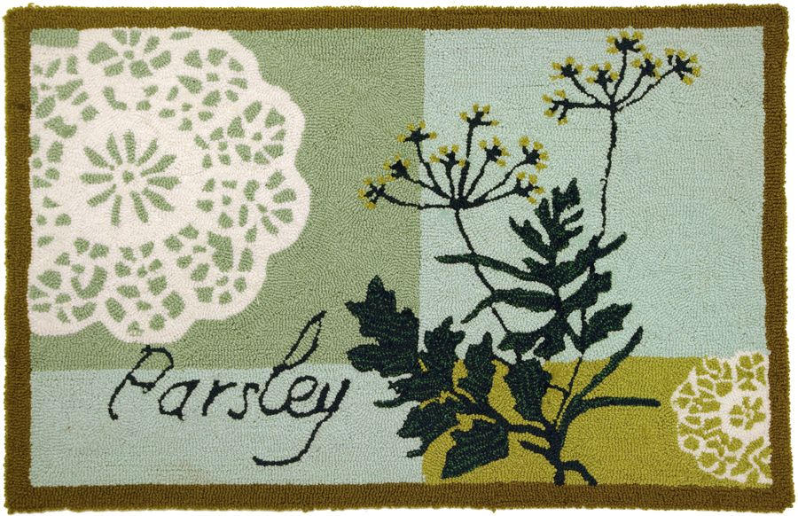 homefires parsley contemporary area rug collection