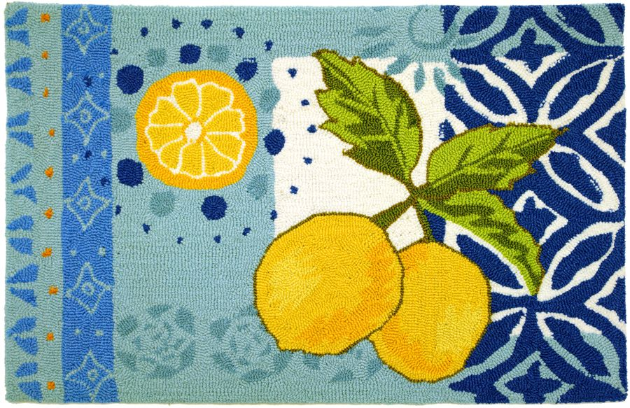 homefires lemons contemporary area rug collection