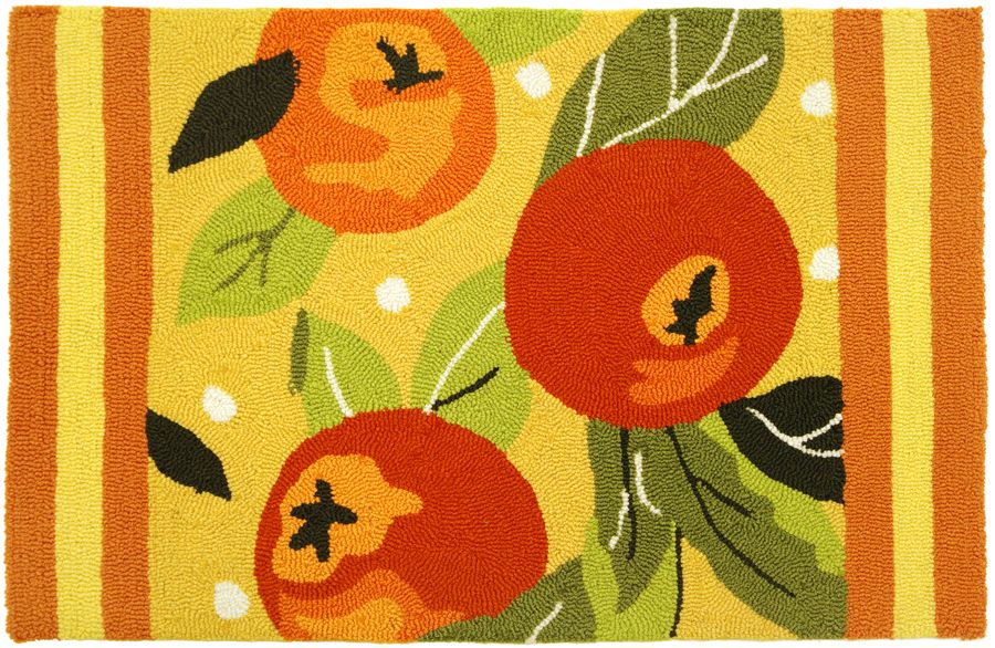 homefires orange tree contemporary area rug collection