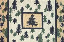 Homefires Contemporary Pine Forest Area Rug Collection
