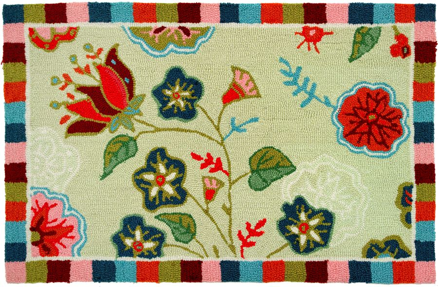 homefires palace garden contemporary area rug collection