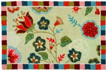 Homefires Contemporary Palace Garden Area Rug Collection