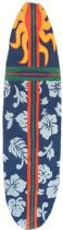 Homefires Contemporary Surfboard - Navy Area Rug Collection