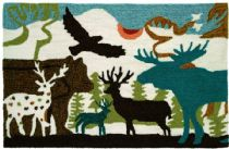 Homefires Contemporary Forest Dwellers Area Rug Collection