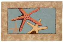 Homefires Contemporary Starfish Area Rug Collection