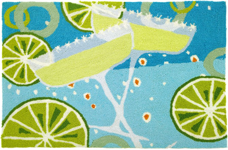 homefires margaritas contemporary area rug collection