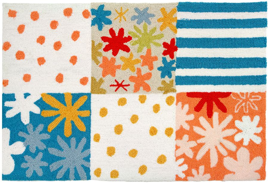 homefires summer vacation contemporary area rug collection