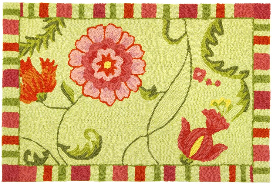 homefires jacobean fuschia contemporary area rug collection