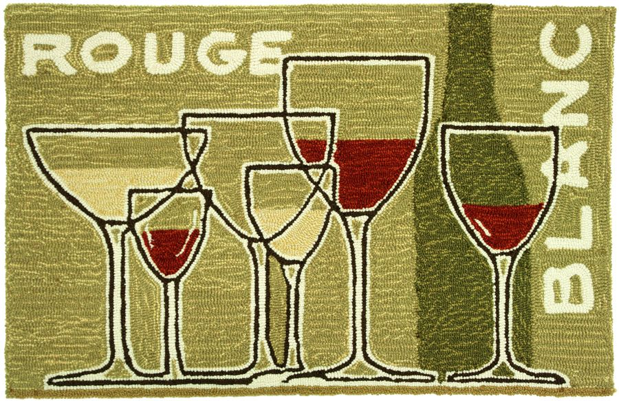 homefires grand vins contemporary area rug collection