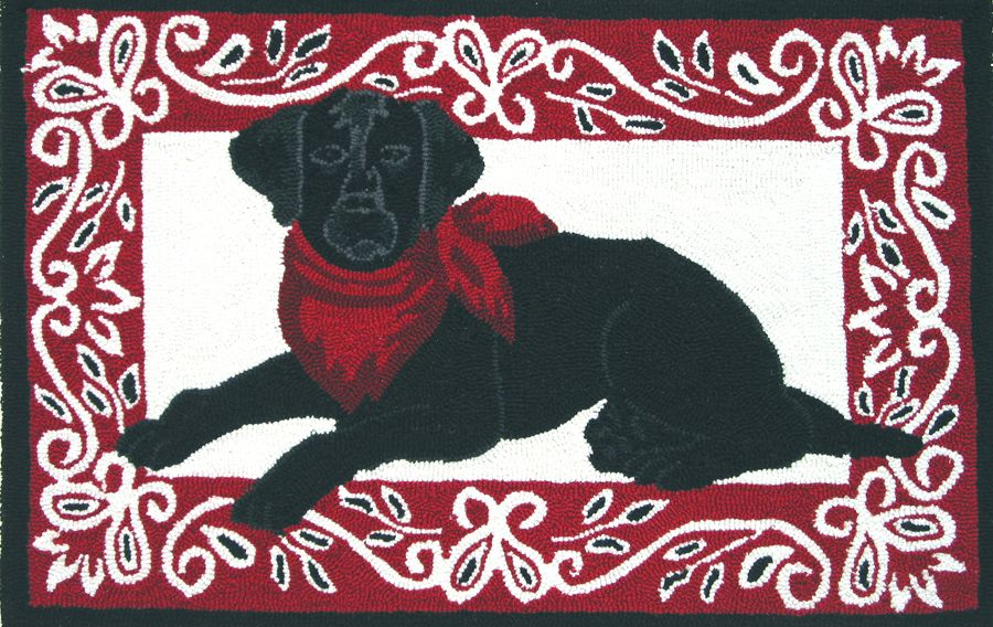 homefires bandana lab contemporary area rug collection