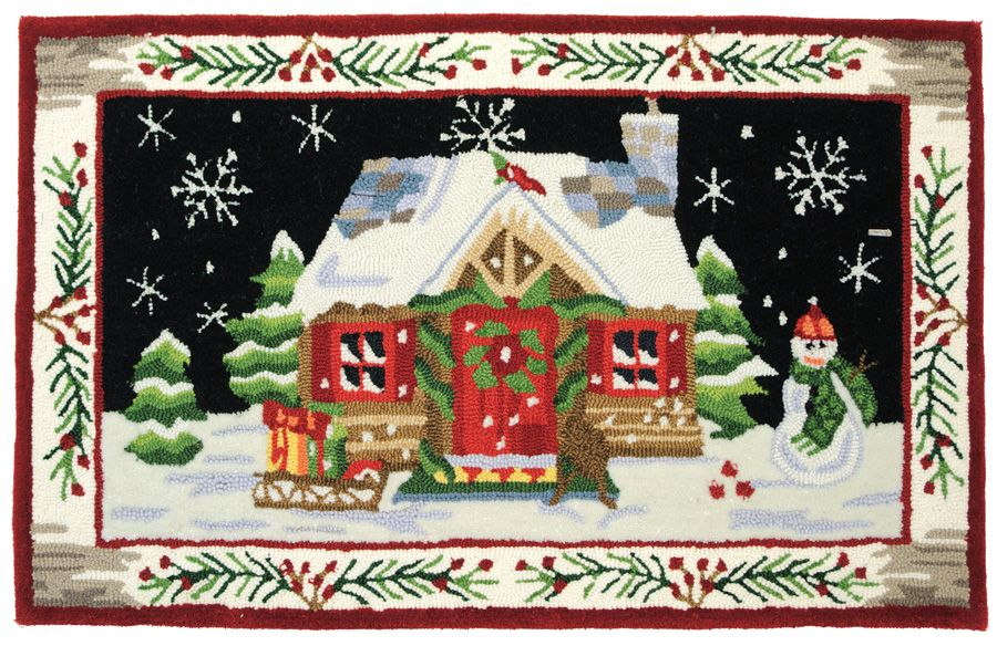homefires st. nicks cabin contemporary area rug collection