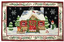 Homefires Contemporary St. Nicks Cabin Area Rug Collection