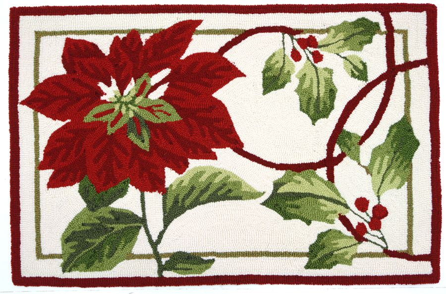 homefires holiday trim contemporary area rug collection