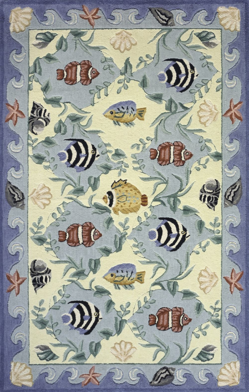 momeni coastal contemporary area rug collection