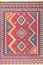 NuLoom Contemporary Audra Tribal Diamonds Fringe Area Rug Collection