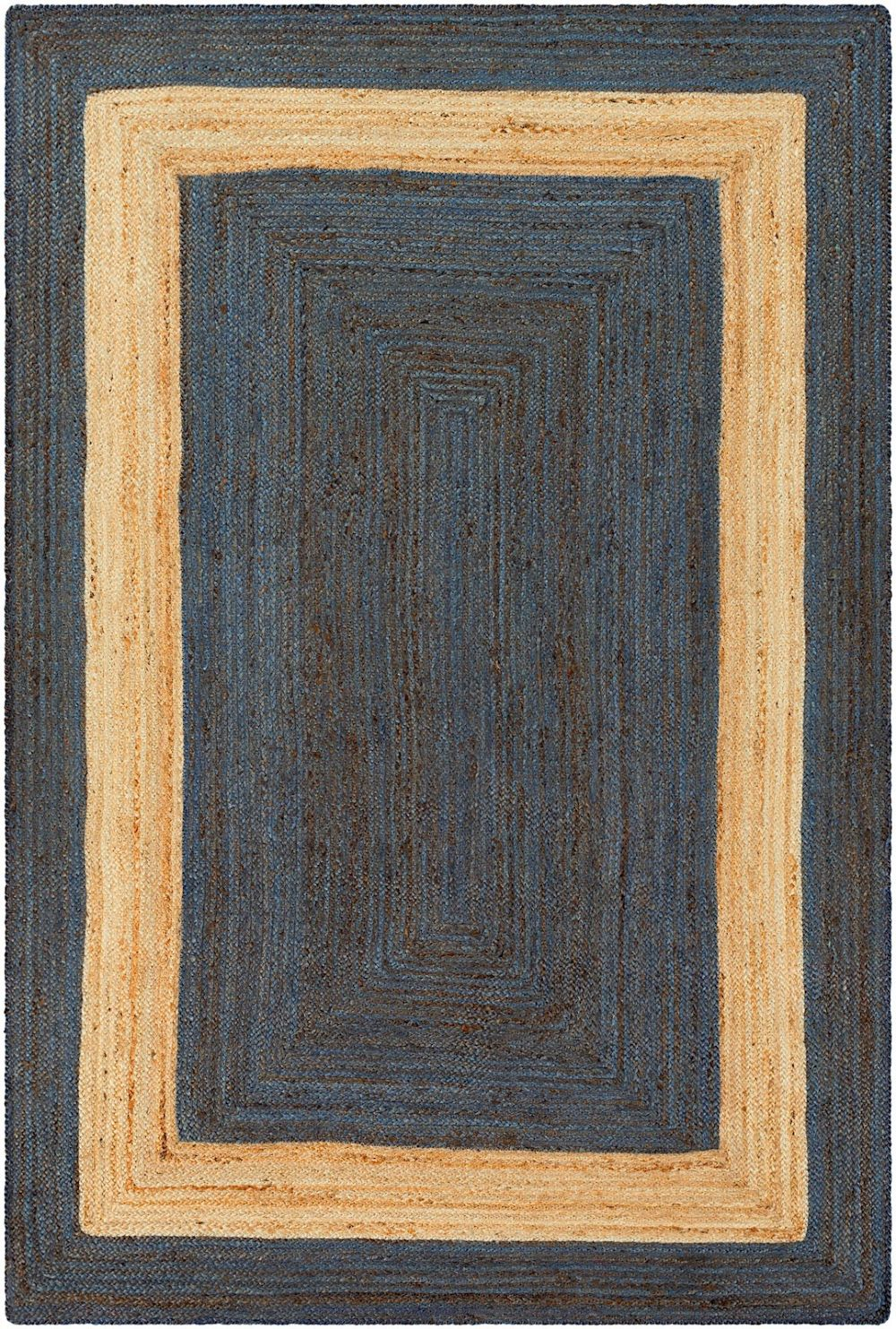 surya brice natural fiber area rug collection