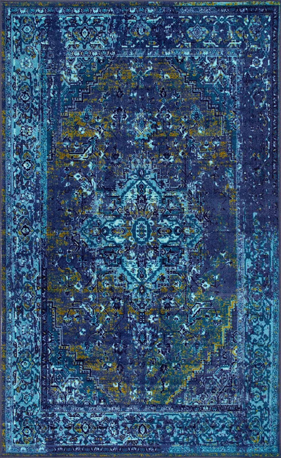 Nuloom Vintage Reiko Traditional Area Rug Collection