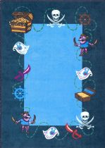 NuLoom Kids Pirate Playtime Area Rug Collection