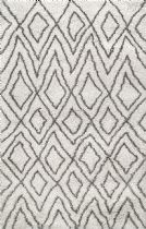 NuLoom Shag Willette Diamondgy Area Rug Collection