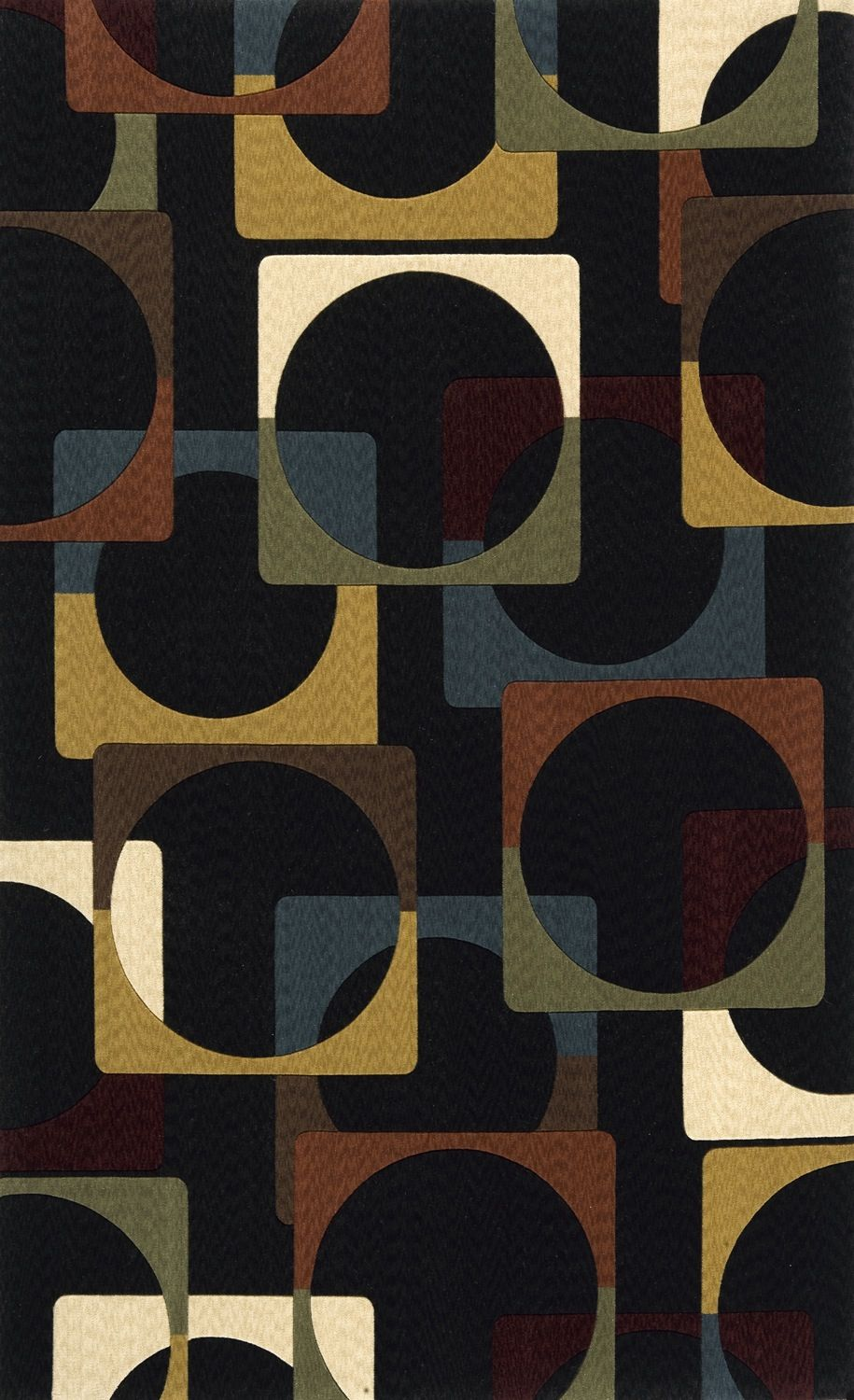 momeni deco contemporary area rug collection