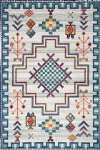 NuLoom Southwestern/Lodge Richelle Tribal Medallion Area Rug Collection