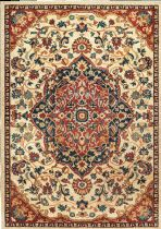 NuLoom Country & Floral Medallion Samantha Area Rug Collection