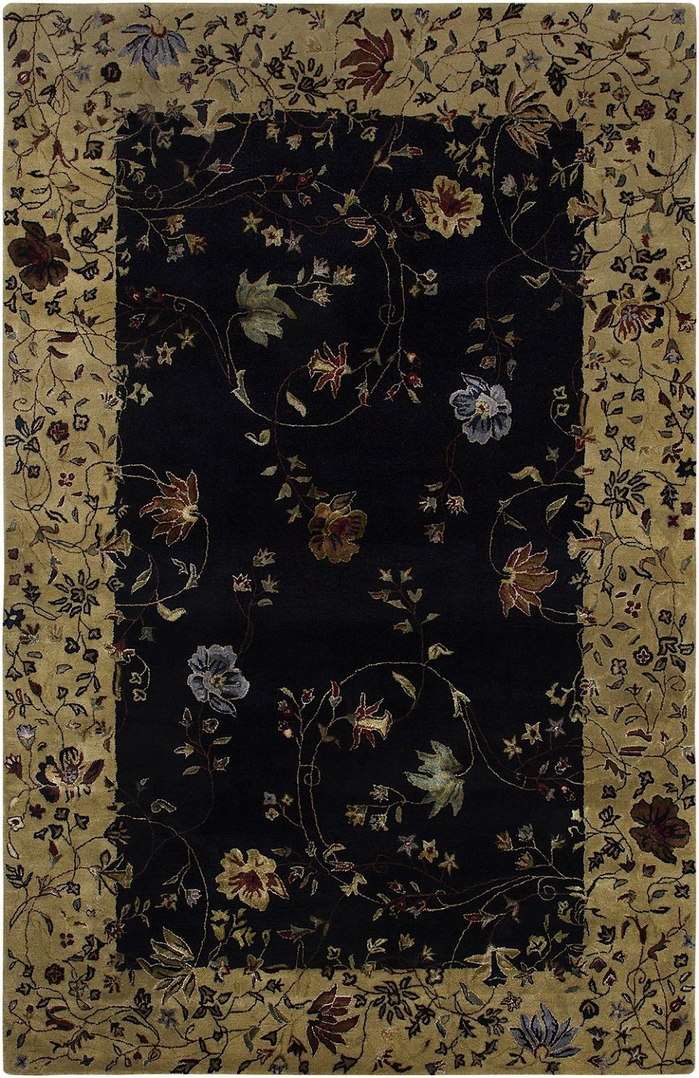amer gardenia transitional area rug collection