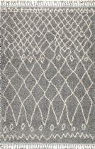 NuLoom Contemporary Valinda Moroccan Trellis Tassel Area Rug Collection