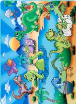 NuLoom Kids Dino Island Playtime Area Rug Collection