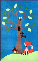 NuLoom Kids Ash Fox and Tree Area Rug Collection