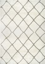 NuLoom Contemporary Deloise Trellis Shag Area Rug Collection