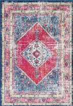NuLoom Traditional Delana Herati Medallion Area Rug Collection