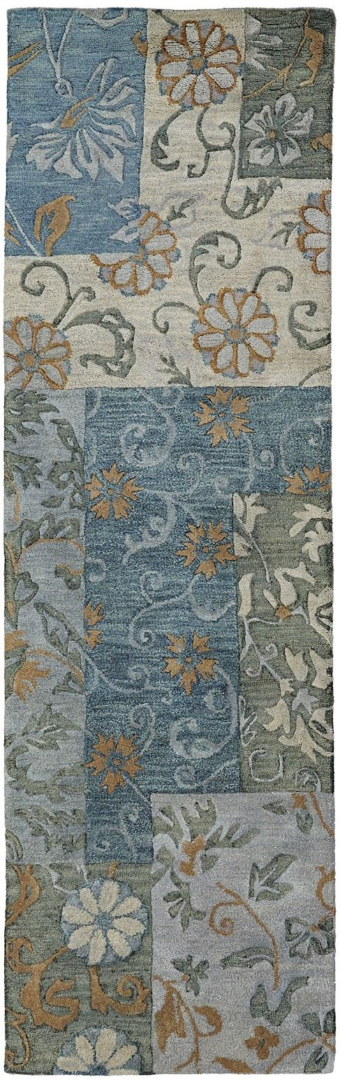 kaleen calais country & floral area rug collection