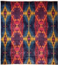 Darya Traditional Ikat Area Rug Collection