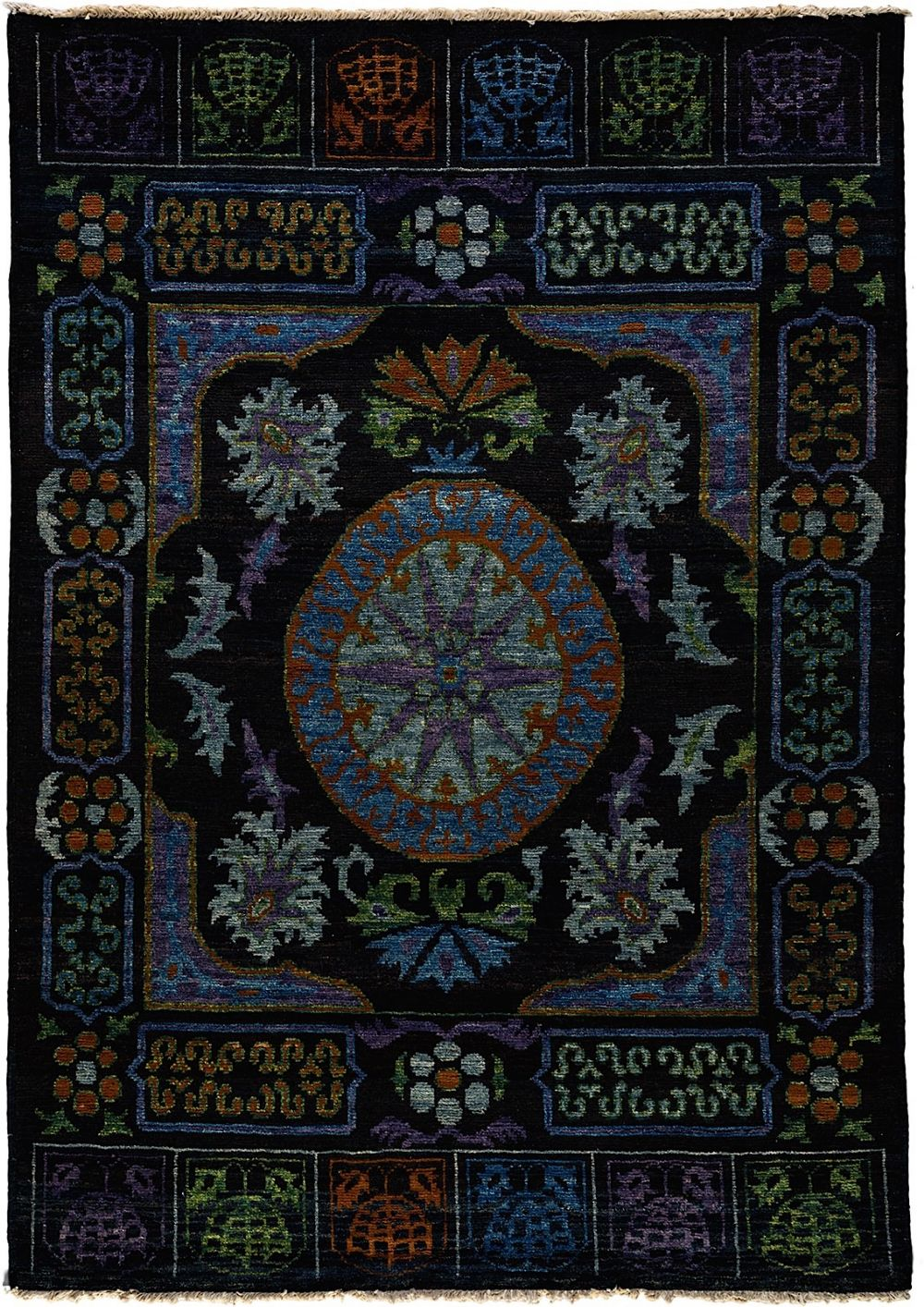 darya kaitag traditional area rug collection