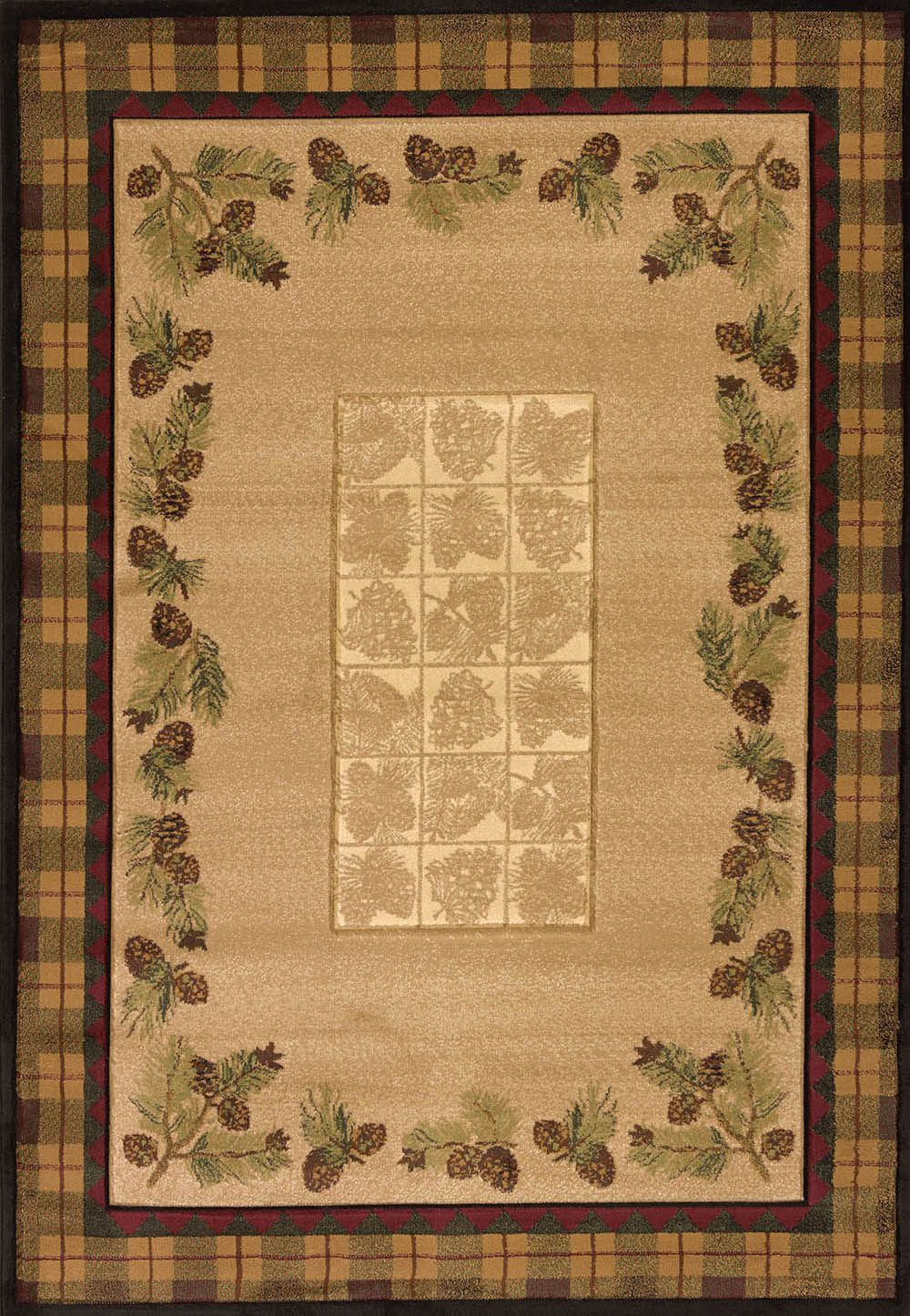 united weavers contours-cem winter southwestern/lodge area rug collection