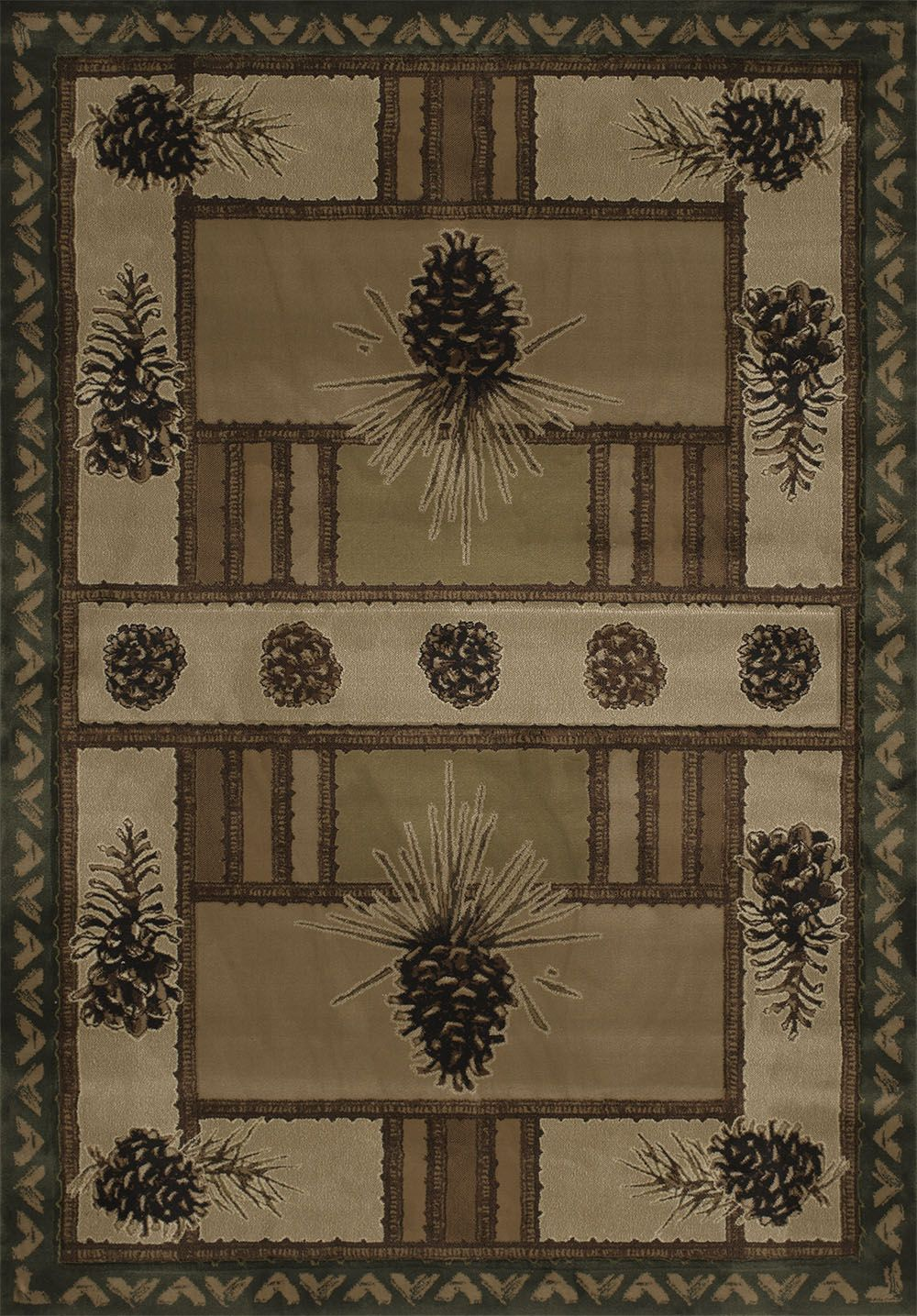 united weavers contours-jq  barrens southwestern/lodge area rug collection